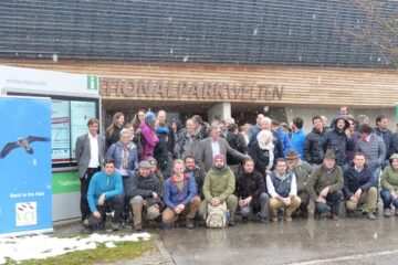 2016 Annual bearded vulture conference.